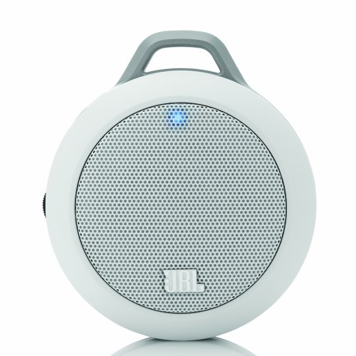 (JBL Micro II Ultra-Portable Multimedia Speaker (White)-Wired)