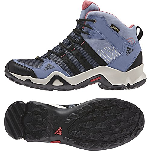 Adidas Rubber AX Synthetic M GTX 5 Sneakers Sport Mid Women's 2 Performance Blue 5 pqvxwZrSpn