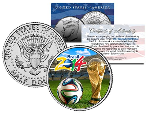 P Soccer Football JFK Half Dollar US Coin *RARE TEST ISSUE* ()