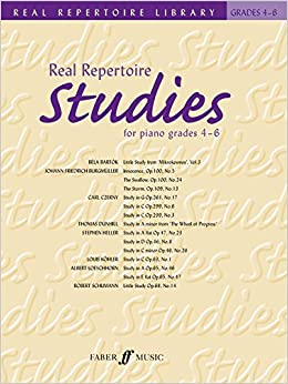 Book Real Repertoire Studies: Grades 4-6