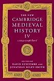 The New Cambridge Medieval History: Volume 4, c.1024-c.1198, Part 1