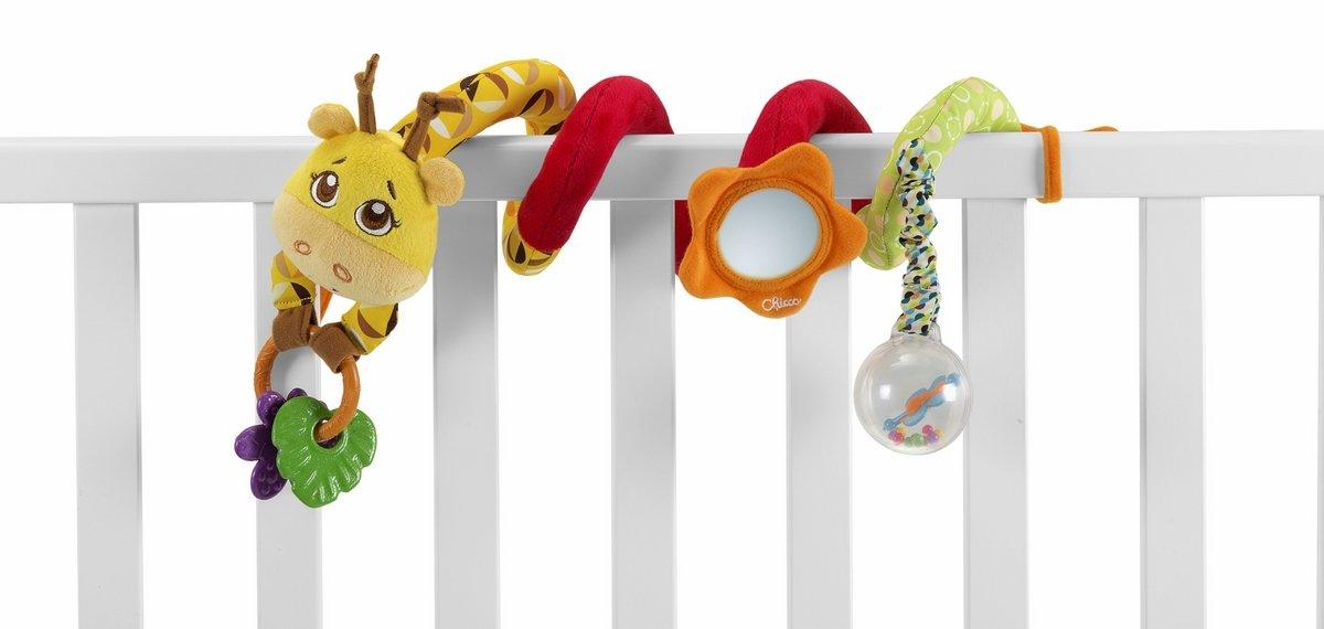 Chicco Mrs Giraffe Stroller Rope Toy