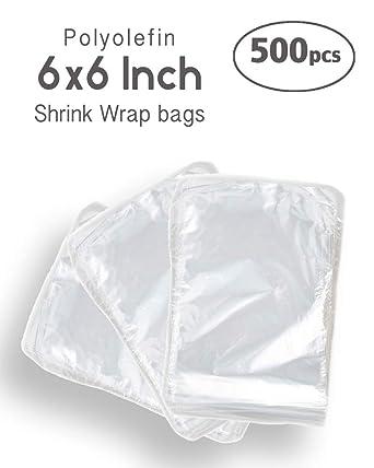 Amazon.com: DOTPRO - Juego de 500 bolsas termorretráctiles ...