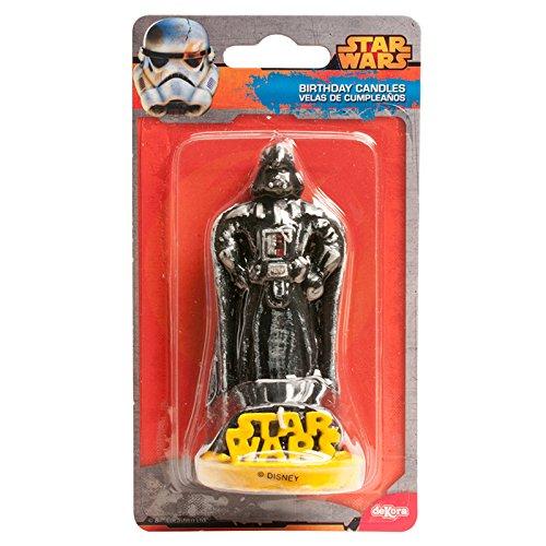 Amazon.com: DEKORA 346090 Candle with Star Wars 3D Design ...