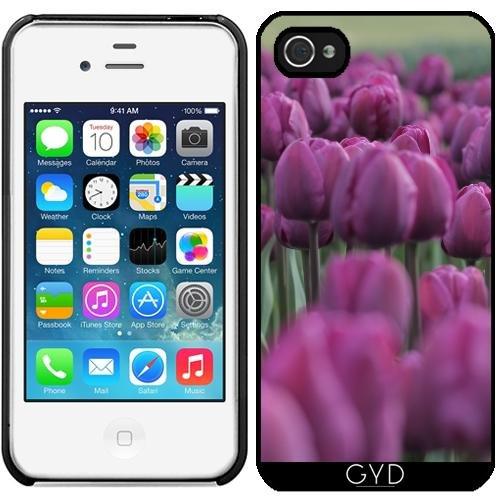 Coque pour Iphone 4/4S - Fleur Tulipe Fleur Paysage by WonderfulDreamPicture