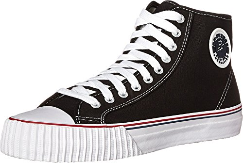 PF Flyers Unisex Center High Reissue BKC Sneaker,Black,8 US Men's/9.5 M US Women's (Pf Flyers Classic Shoes)