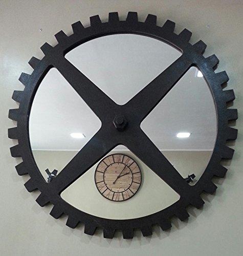 laminated poster metal clock kitchen