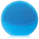 FOREO LUNA play – All the Power of T-SONIC Cleansing in 1 Small Device, Aquamarine