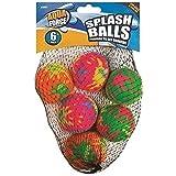 6 Pack Splash Soft Water Balls - Multicoloured