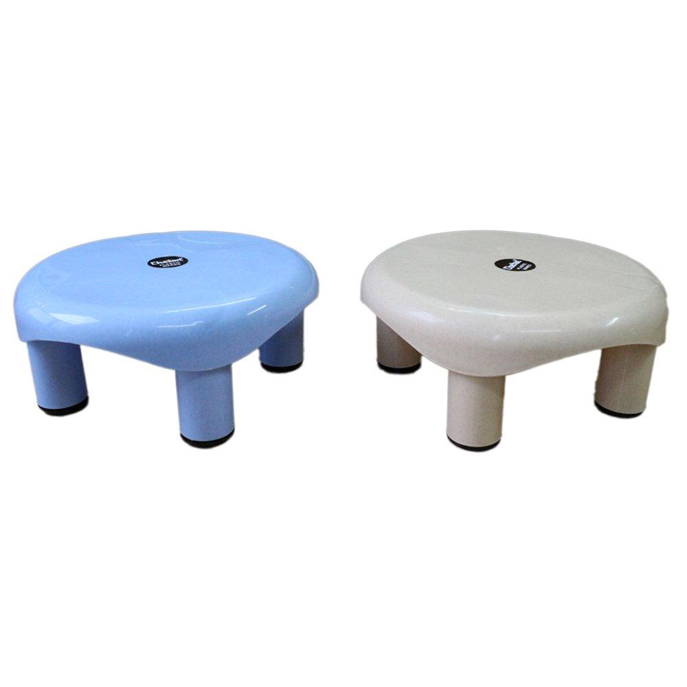 Chetan Bathroom Plastic Stool, 2Pc, Multicolor: Amazon.in: Home ...
