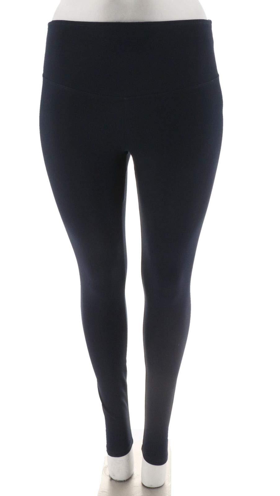 Yummie Compact Cotton Full Length Leggings A296343, Peacoat, L