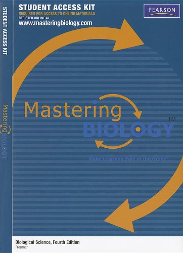 Biological Science 4th Ed Masteringbiology Code Card (Mastering Biology (Access Codes))