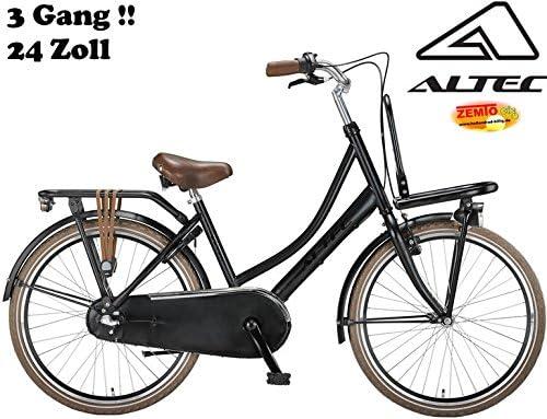 Bicicleta Holandesa para Mujer 24 Pulgadas 3 Marchas Dutch Negro ...