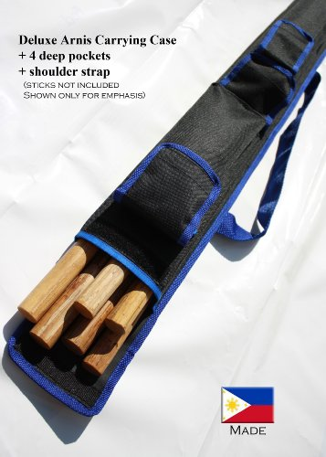 Sports Bag 2.5 Feet Long for Arnis or other Sports Equipment (Blue)