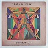 TODD RUNDGREN Initiation LP Vinyl VG+ Cover VG+ Lyrics Sleeve 1975 BR 6957
