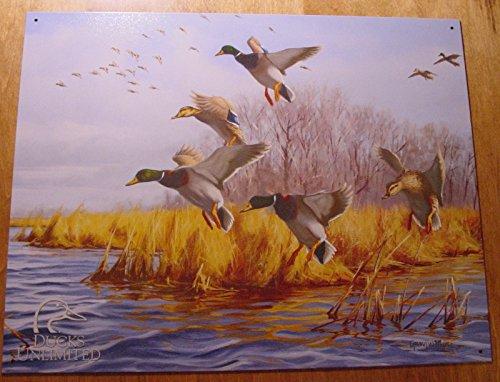 Amazon.com: Ducks Unlimited Marsh Lake Duck Hunter Hunting ...