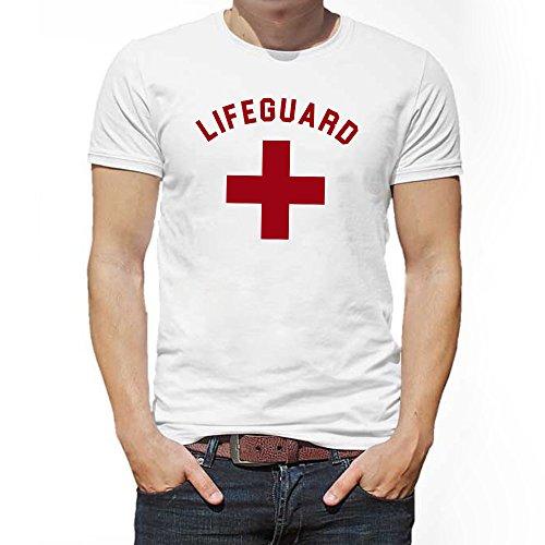 Lifeguard Costume Halloween Save Life At Sea Life Saver Danger Emergency Baywatch Handmade T-Shirt Hoodie Long Sleeve Tank Top -