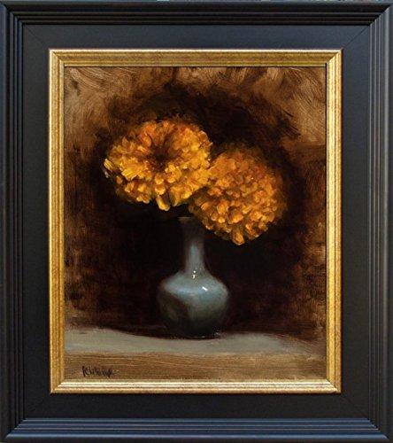 Enchantment Canvas Art Painting (Marigold Enchantment)