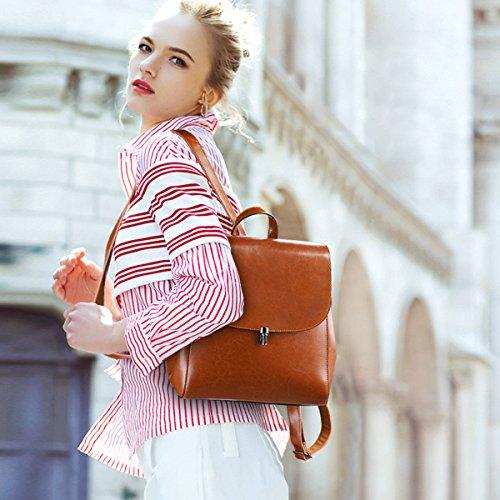 Casual Travel Daily Donne Piccolo Marrone zone S Zainetto Borsa caff¨¨ Ladies 4ngOXq7