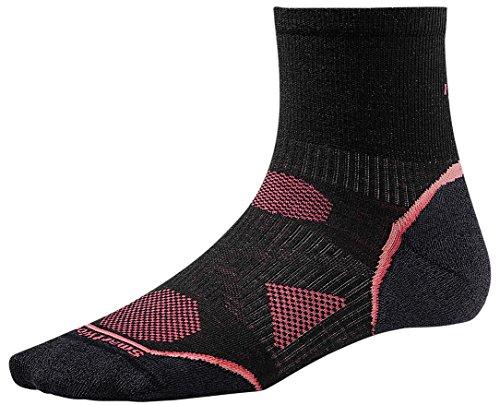 Smartwool Women's PhD Cycle Ultra Light Mini Socks (Black) Medium