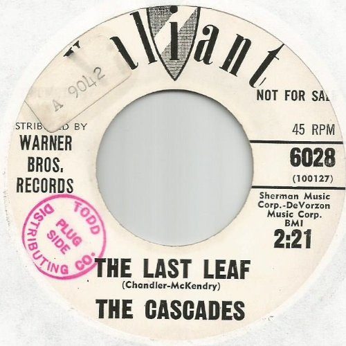 The Cascades: The Last Leaf B/w Shy Girl