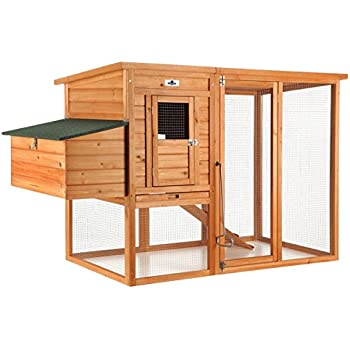 Confidence Pet Large Chicken Coop / Hen House with Outdoor Run