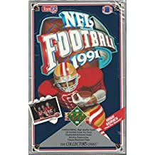 1991 Upper Deck NFL Football Trading Cards Premiere Edition - Unopened Box (36 packs/Box) - Possible Brett Favre RC!