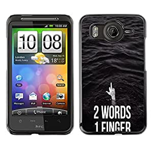 Dragon Case - FOR HTC G10 - he is in love - Caja protectora de pl??stico duro de la cubierta Dise?¡Ào Slim Fit