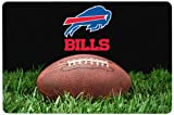 NFL Buffalo Bills Classic Football Pet Bowl Mat, Large