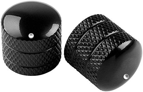 Proline Metal Dome Control Knob 2 Pack Black ()