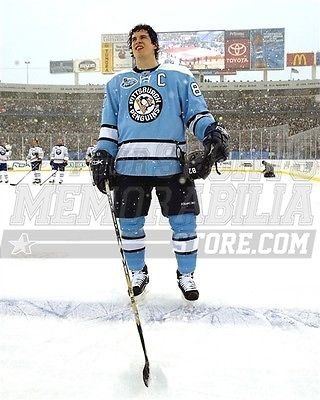 (Sidney Crosby Pittsburgh Penguins winter classic 8x10 11x14 16x20 photo 615 - Size 16x20)
