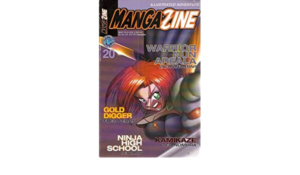 Mangazine #20 Comic (Gold Digger, Warrior Nun Areala ...