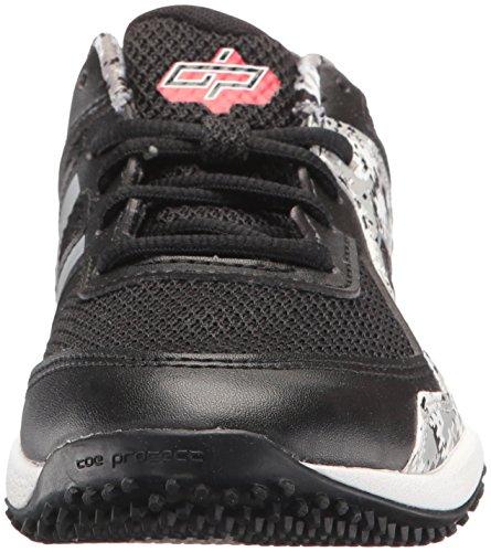 New Balance Boys' TY4040 Turf Baseball Shoe, Black/White, 6 M US Big Kid by New Balance (Image #4)