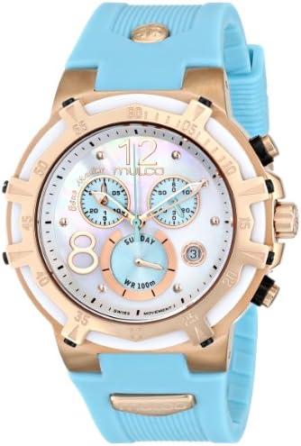 MULCO Unisex MW1-29903-043 Analog Display Swiss Quartz Blue Watch