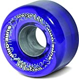 Sure-Grip Motion Outdoor Quad Roller Skating 65mm Clear Purple