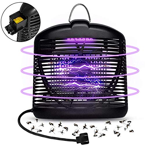Athemo Electric Insect Killer, Fly Bug Insect Zapper Killer Control with Trap Lamp 110V for Indoor Outdoor (Lightwave Bar 4)