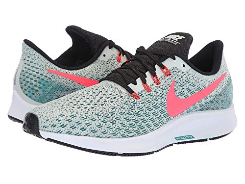 [NIKE(ナイキ)] メンズランニングシューズ?スニーカー?靴 Air Zoom Pegasus 35 Barely Grey/Hot Punch/Geode Teal/Black 13 (31cm) D - Medium