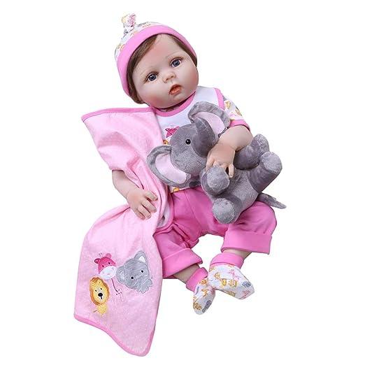 Amazon.com: SM SunniMix - Muñeca de silicona para bebé ...