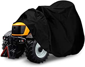 "NASUM Riding Lawn Mower Cover, 600D-Upgrade Tractor Cover Fits Decks up to 54"", Outdoors Lawn Mower Cover, Protection Universal Fit for Your Lawn Tractor Cover(72x54x46 inches)"
