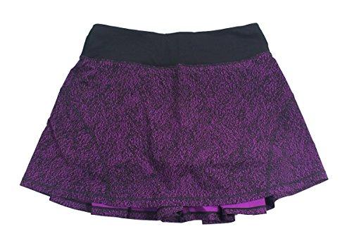 Lululemon Circuit Aurora Black Circuit Breaker Skirt Tall
