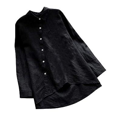 9e0cb8b7346e Hokoaidel 2019 Camisetas de Tallas Grandes para Mujer, Camisetas ...