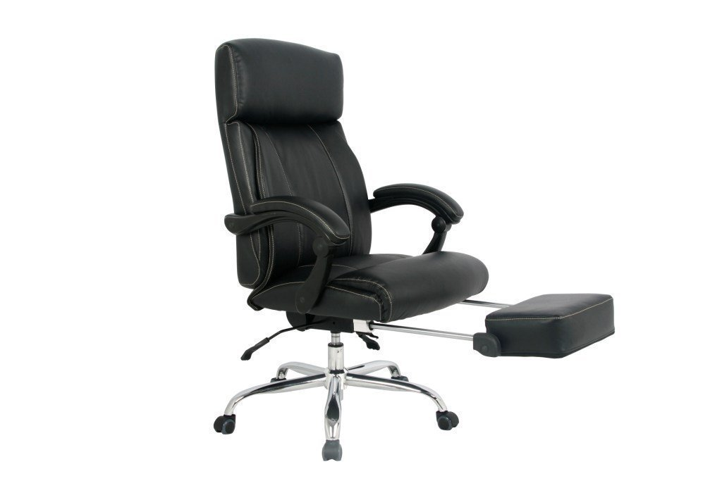 Amazon.com: VIVA OFFICE Reclining Office Chair, High Back Bonded Leather  Chair With Footrest  Viva08501: Kitchen U0026 Dining