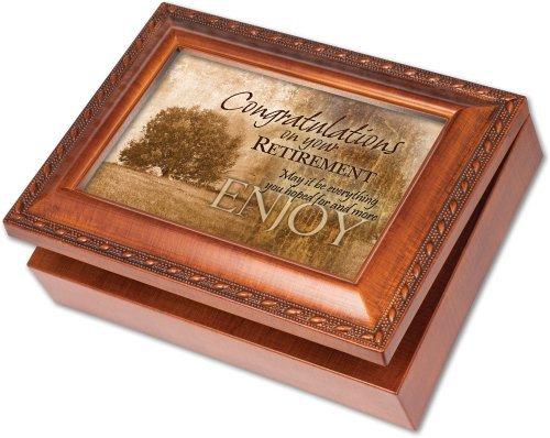 価格は安く Cottage Garden Gardenおめでとう Cottage 退職 木目調オルゴール ジュエリーボックス 素晴らしい世界を Cottage B01LVWODHQ Garden B01LVWODHQ, ベルトイズム:d35c9e0b --- arcego.dominiotemporario.com