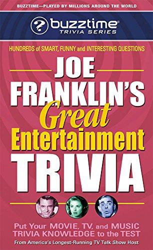Joe Franklin's Great Entertainment Trivia (Buzztime Trivia Series) pdf