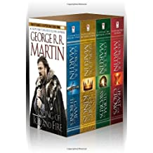 George R. R. Martin's A Game of Thrones 4-Book Boxed Set: A Game of Thrones, A Clash of Kings, A Sto: Written by George R.R. Martin, 2011 Edition, (Box) Publisher: Bantam [Mass Market Paperback]