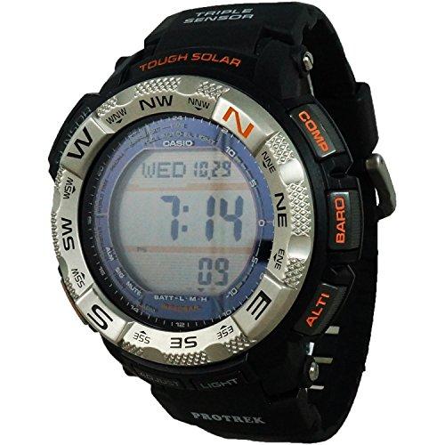 Casio Protrek Battery (Casio Men's PRG260-1 Pro-Trek Watch with Black Band)