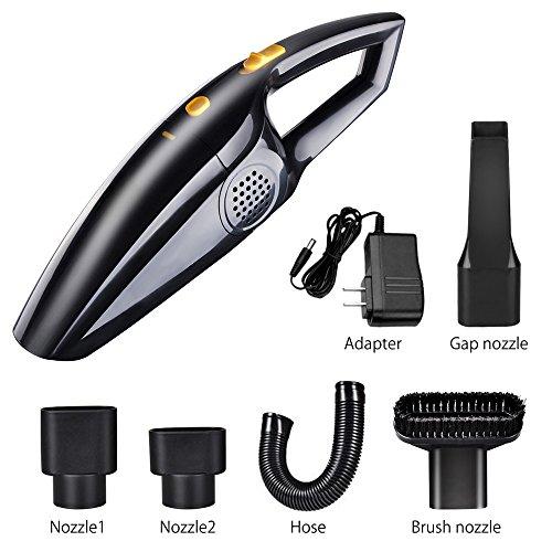 Cordless Vacuum Cleaner Handheld Car Vacuum 120W Rechargeabl