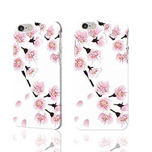 """Pink Floweret 3D Rough iphone Plus 6 -5.5 inches Case Skin, fashion design image custom iPhone 6 Plus - 5.5 inches , durable iphone 6 hard 3D case cover for iphone 6 (5.5""""), Case New Design By Codystore"""