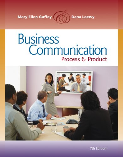 Bundle: Business Communication: Process and Product, 7th + www.meguffey.com Printed Access Card + Aplia with Cengage Lea