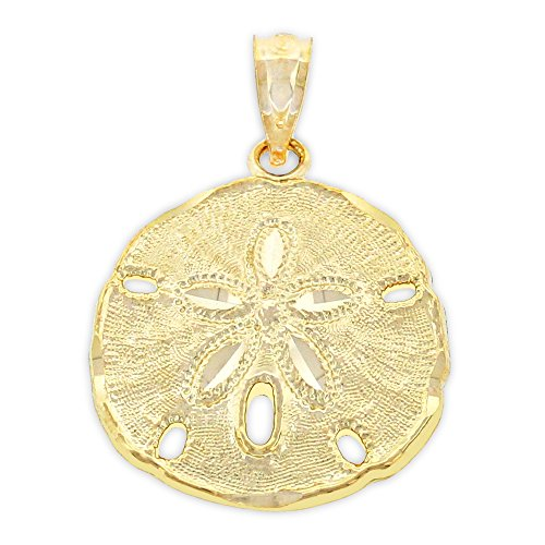 Charm - Gold Sand Dollar...